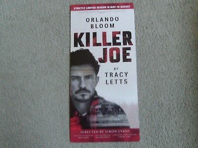ORLANDO BLOOM  KILLER JOE Theatre Flyer LONDON Flyer