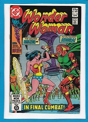 """Wonder Woman #278_April 1981_Very Fine_""""the Serpent And The Amazon""""_Bronze Uk!"""