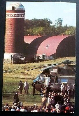 1979 Pope John Paul II Marine Helicopter Living History Farms Des Moines IA