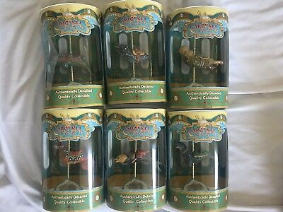 Disney King Triton Carousel Of The SEA California Adventure Collection Lot Of 6