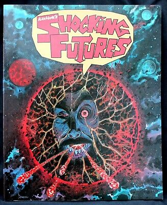 Alan Moore's Shocking Futures a nr m 1986 1st Edition  22.5 x 27.5 cm G Novel