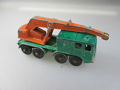 Matchbox/Lesney:Kranwagen / Wheel-Crane No.30  (Schub8)