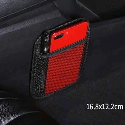 Car Auto String Mesh Net Bag Storage Pouch For Cell Phone Gadget Holders
