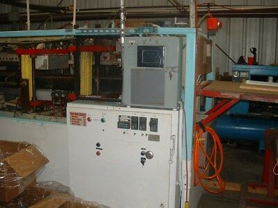 used inline thermoforming-vacuum forming machine PI (Sencor) 1600 roll-fed 1984