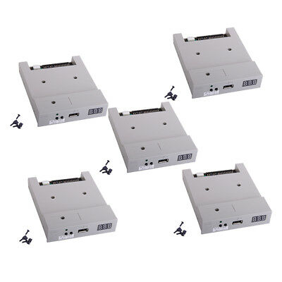 Premium 5x 3.5'' 720KB USB Floppy Drive ABS Housing for Industry Machine