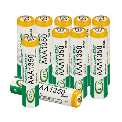 4x 8x 12x 16x BTY AAA Battery Ni-MH 1350mAh 1.2V Rechargeable Batteries