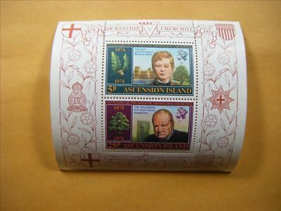 4307 Ascension Is. MNH Stamp Souvenior Sheet