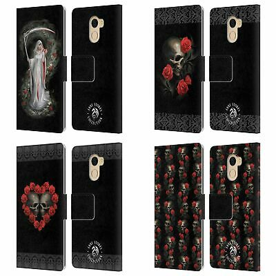 Official Anne Stokes Life Blood Leather Book Case For Wileyfox & Essential