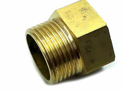 """US Stock 2x 1//4/"""" BSP Male Thread to 3//8/"""" BSP DN10 Female Brass Coupler Connector"""