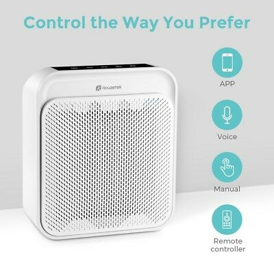 Purificatore d'aria Air Purifier with HEPA Filter 255m³/h 56W App Voice Control