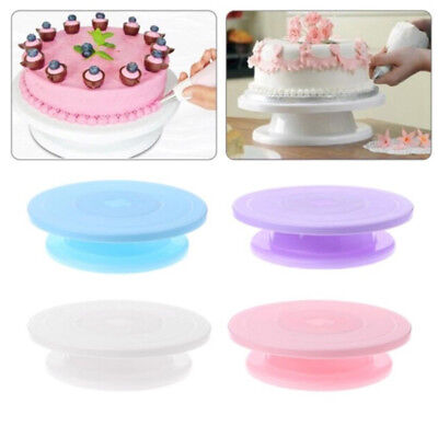 Pastry Cake Spinning Holder Base Turntable Decor Stand Decorating Display
