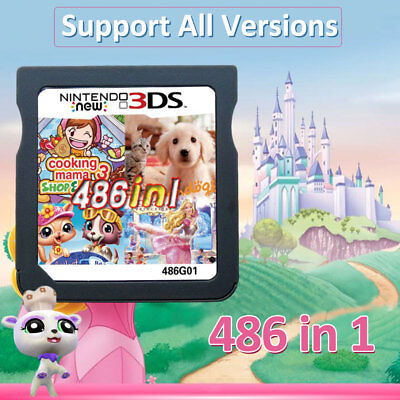 486 In 1 Cartridge Video Game Card Console for NDS NDSL 2DS 3DS NDSI