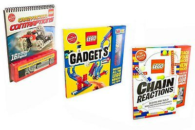 Klutz Lego Crazy Contraptions, Gadgets and Chain Reactions