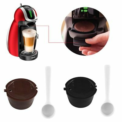 Refillable Reusable Compatible Coffee Capsules Pods for DOLCE GUSTO Machine