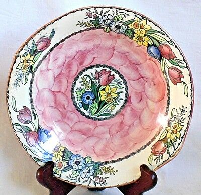 Maling Dish In A Floral Pattern