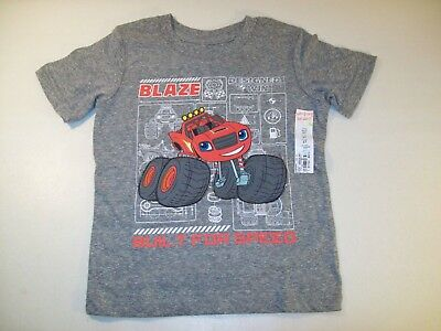 BOYS SIZE 4T JUMPING BEANS TONKA GRAY HEATHER CONSTRUCTION TSHIRT NEW #15743