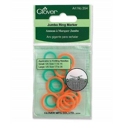 Jumbo Stitch Ring Markers-20/pkg