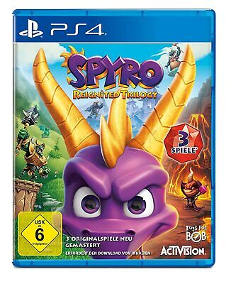 PS4 Spyro Reignited Trilogy Mit 3 Jeux Dragon Ripto ' J Rage Year Of The Dragon