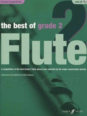 The Best of Grade 2 Flute Sheet Music Book with CD & Piano Accompaniment