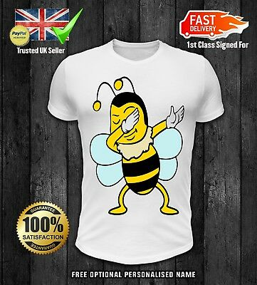 5e58899b19c8 DABBING BEE KIDS Christmas t shirt boys girls DAB DABBIN - £7.99 ...