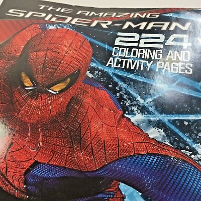The Amazing Spider Man Coloring And Activity Book New 2012 6 95