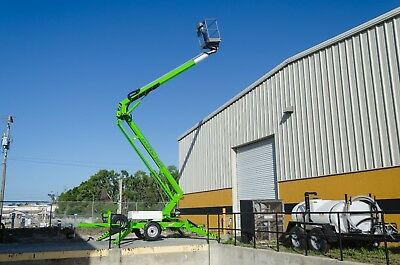 Nifty TM50 Towable Lift, 56' Height,Dual Power w/Hydraulic Wheel Drive, In Stock