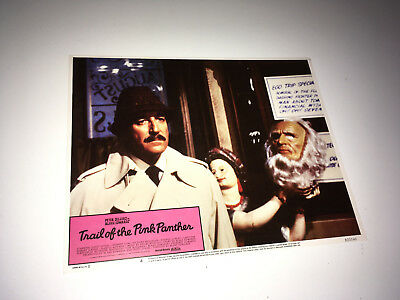 TRAIL OF THE PINK PANTHER Movie Lobby Card Poster Peter Sellers as Clouseau #4
