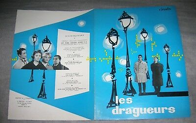 synopsis  - LES DRAGUEURS - Charles Aznavour - Jean-Pierre Mocky - Dany Carrel -