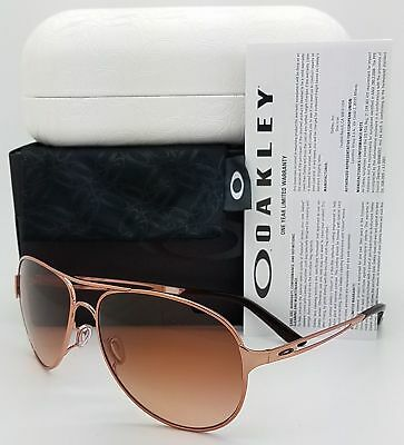 5fcce4776e Oakley Caveat Sunglasses Rose Gold VR50 Brown Gradient 4054-01 New Italy  60-14