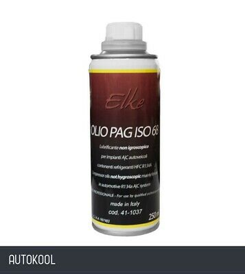 R134a Car A/C Air Conditioning Refrigerant Compressor Universal Pag Oil 250ml