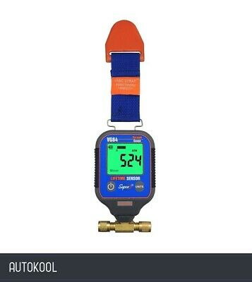 Javac Refrigerant Refrigeration Air Con Digital Vacuum Gauge Vg-64