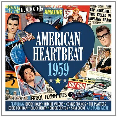 American Heartbeat 1959 - 50 Original Recordings 2CD NEW/SEALED