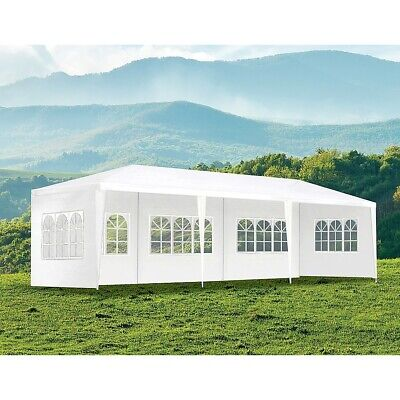Outdoor Pop Up Gazebo Folding Marquee Tent Canopy for Wedding Event Party Shade