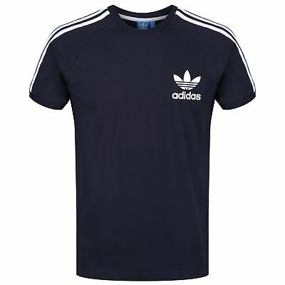 ADIDAS ORIGINALS 3 STRIPES BRAND T SHIRT GREY XS S M L XL