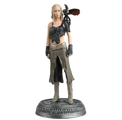 DAENERYS TARGARYEN RESINA 8cm OFFICIAL COLLECTOR'S MODEL Eaglemoss Trono Spade