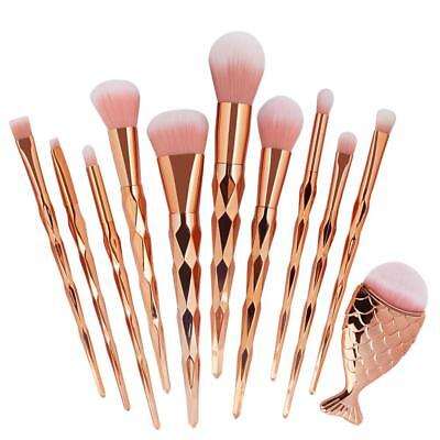 11PCS  Pro Brosse Maquillage Makeup Brushes Pinceaux Maquillage Cosmétique Tool