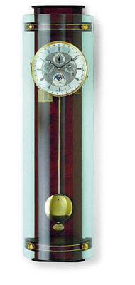 AMS 3633/1 - Wall Clock - Walnut - Pendulum Clock - Regulator Clock - New