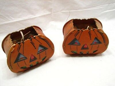Vintage Pumpkin Patch Halloween Lantern Lights Decorative Jack O' Lantern Decor