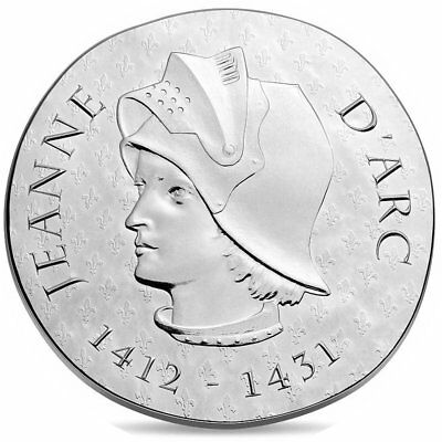 2016 France € 10 Euro Silver Proof Coin Women of France Joan of Arc Jeanne d'Arc
