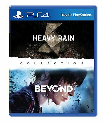 PS4 Game the Heavy Rain & Und and beyond: Two Souls Quantic Dream Collection New