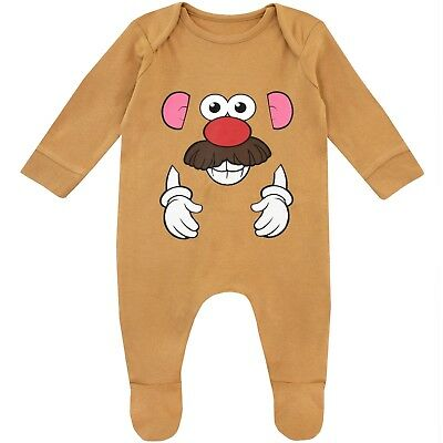 Toy Story Baby Sleepsuit | Babies Mr. Potato Head Pyjamas | Disney Baby PJs