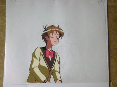 The Vision Of Escaflowne Hitomi Anime Production Cel 7