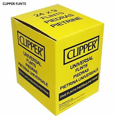 Sale !! 1-2-3-4-5 -10-24 Clipper -Swan Lighter Flints For All Lighters Types