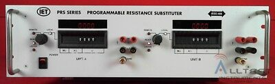 IET Labs 2PRS-F-4-1-2IEEE-2D-RM Programmable Resistance RTD Decade