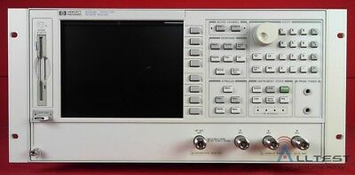 Agilent - Keysight 8753E -011 RF Vector Network Analyzer to 3 GHz (1405)