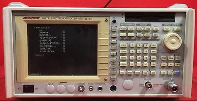 Advantest R3273-01-74-21 Spectrum Analyzer, 100 Hz to 26.5 GHz