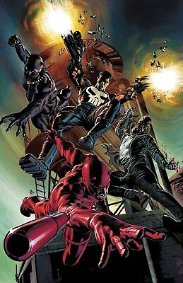 Marvel Knights 20th #1 Deodato Variant - Bagged & Boarded