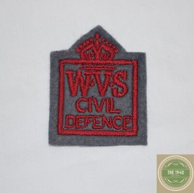 Women's Voluntary Service Badge, reproduction, WVS, 1940's, WW2, Wartime,