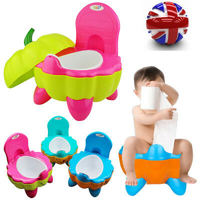 Baby Toilet Easy Clean Kid Toddler Potty Training Chair Portable Car Travel Seat