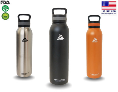 b492d61afa 24oz Vacuum Insulated Sports Water Bottle Double Wall Stainless Steel |  hot/cold